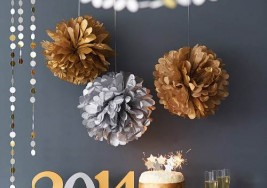 Easy New Year's Eve Buffet Setting Ideas