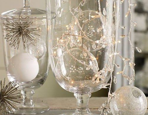Christmas Decorations:  Using Ornaments in Clever Decor