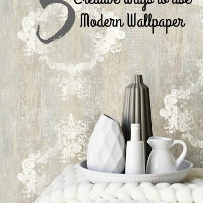 5 Creative Ways to Use Modern Wallpaper in your Interiors