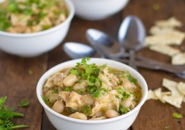 Warm Winter White Chicken Chili Recipe