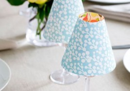 DIY Sat. 174 – DIY Votive Wine Glass Lampshades (Video)