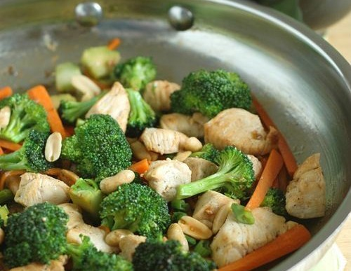 Asian Inspired – Toasted Peanut Broccoli Stir-Fry Recipe