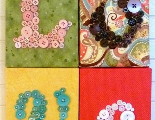 DIY Button Crafts to Add Style to your Home