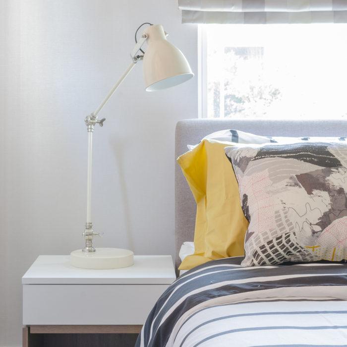 modern bedroom staging tips