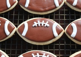 Super Bowl Dessert: Football Sugar Cookies Recipe