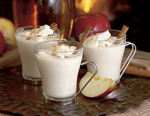 Winter Cozy Drink: Hot Apple Cider Nog Recipe