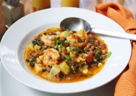 Easy Winter Recipe: Shrimp and Vegetable Stew