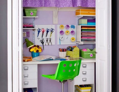 Craft Closet Organization: Easy Tips for your Craft Room