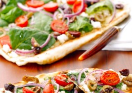 Savory Grilled Vegetable Pizza Recipe