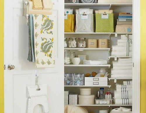 How to Easily Organize your Linen Closet