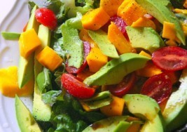 Healthy Meal: Mango and Avocado Salad Recipe