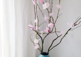 Kids Spring Craft: How to Make a Cherry-Blossom Tree