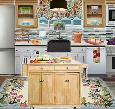 Olioboard Inspiration: Bringing Fresh Spring into your Kitchen Design