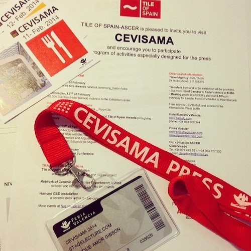 Tile of Spain_Stagetecture_Cevisama Press Pass
