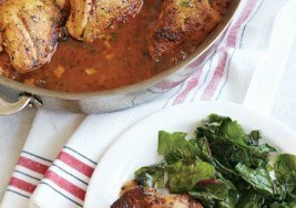 Braised Chicken with Spring Vegetables Recipe
