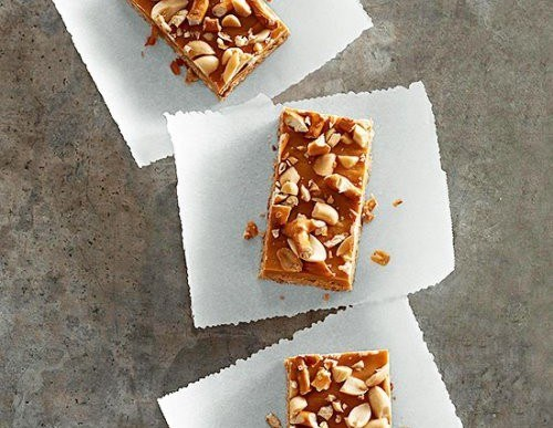 Delicious Snack: Butterscotch-Pretzel Bars Recipe