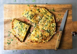 Spring Brunch Idea: Frittata Stuffed with Healthy Greens Recipe