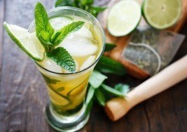 Spring Cocktail: Iced Green Tea Mojito Recipe