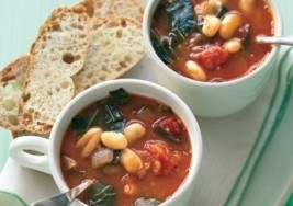Minestrone with Collard Greens and White Beans Recipe