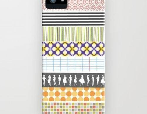 DIY Craft Idea: Personalized Washi Tape Cell Phone Case