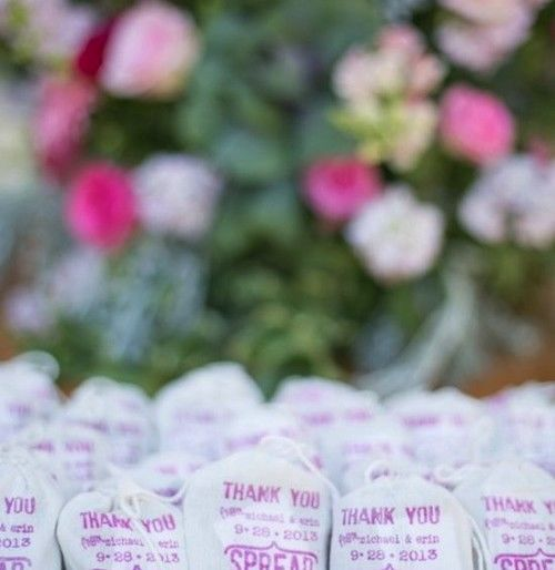 Affordable Spring Wedding Favors