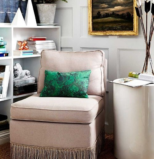 Spring DIY: How to Add Decorative Fringe to Upholstery