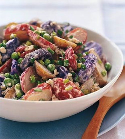 Memorial Day Recipes: Red, White, and Blue Potato Salad