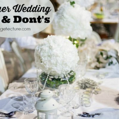 Essential Dos and Don'ts for Summer Weddings