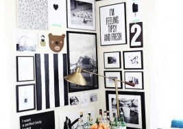 Decorating Ideas: Styling a Corner Gallery Wall