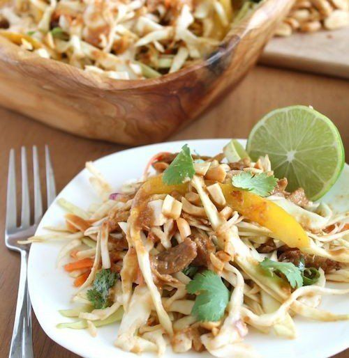 Healthy Dinner: Delicious Thai Chicken Salad Recipe