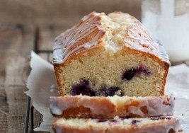 Blueberry Recipe: Blueberry Bread with Lemon Glaze