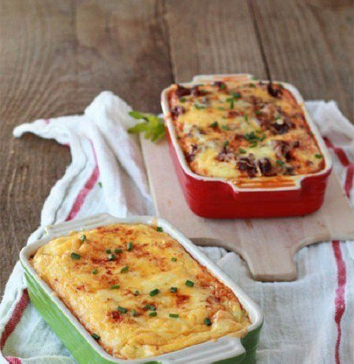 Summer Brunch Idea – Cheesy Chile Strata Recipe