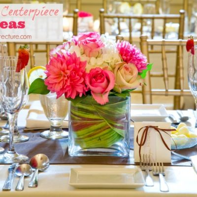 Eco-Friendly Wedding Centerpiece Ideas