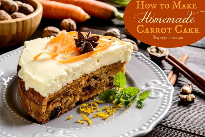 How To Make Carrot Cake Recipes From Scratch