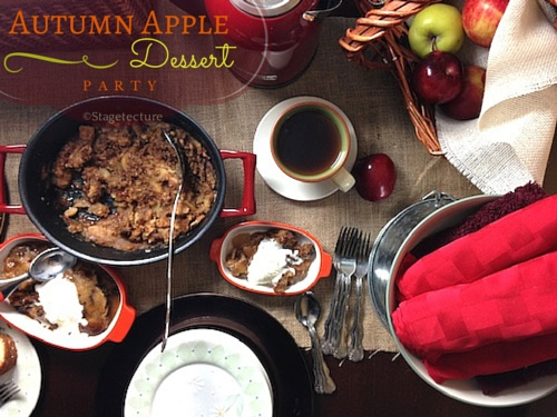 Celebrate Fall: My Autumn Apple Dessert Party with KitchenAid
