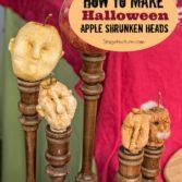 DIY Halloween Craft: How to Make Creepy Shrunken Heads