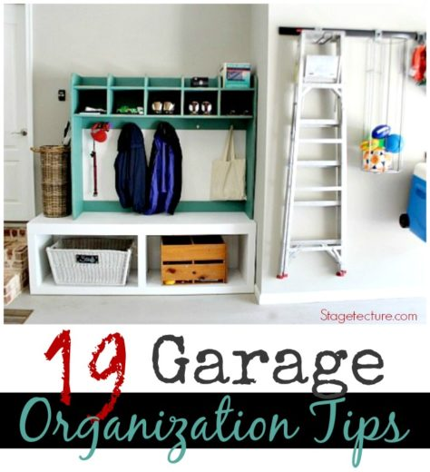 19 Garage Organization Tips to Clear the Clutter