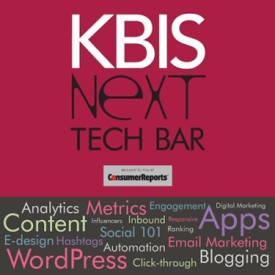 Blogging in Vegas! Join Me at the #KBIS2015 NeXT Tech Bar