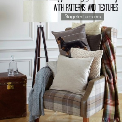Home Decor: How to Decorate with Winter Textures