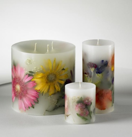 Dried-flower-candles