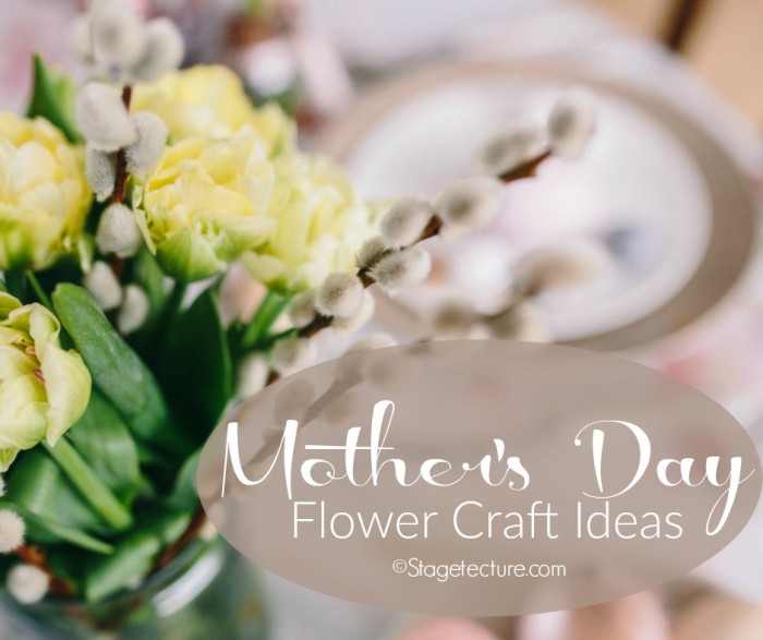 mothers day gifts  make these mothers day flowers crafts, Beautiful flower