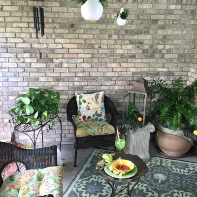 #SummerofEntertaining -Transforming my Patio with Pier 1 Imports
