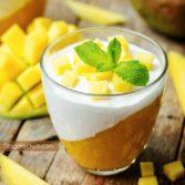 mango souffle dessert recipe