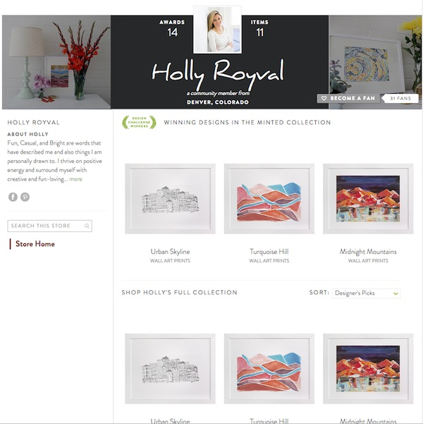 Minted_Holly Royval
