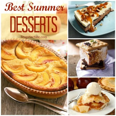 Recipe Roundup: 4 of the Best Summer Desserts