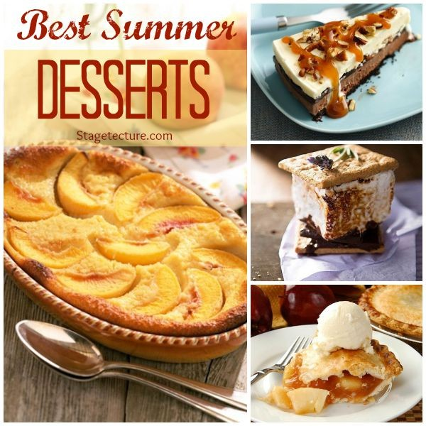 Recipe Roundup: 4 of the Best Summer Desserts