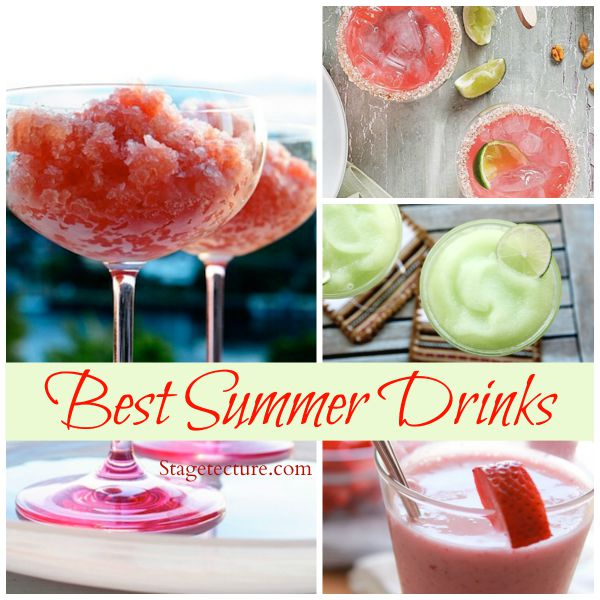 Stagetecture best summer drinks recipes