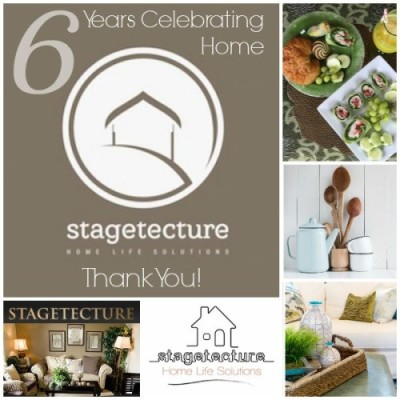 Stagetecture Celebrates 6 Year Anniversary of Loving your Home!