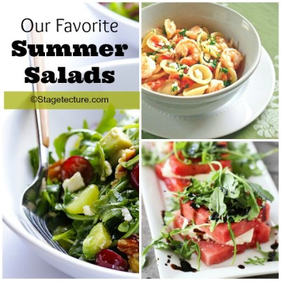 Recipe Round Up: Our Favorite Summer Salads