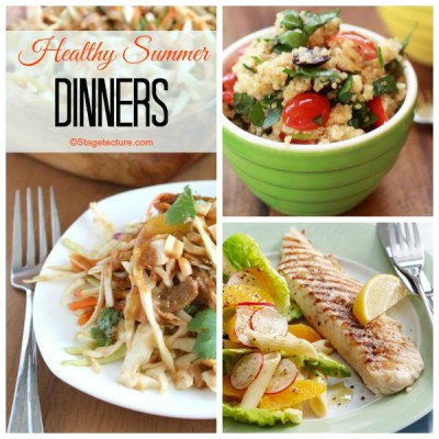 Recipe Round Up: 5 Healthy Summer Dinners